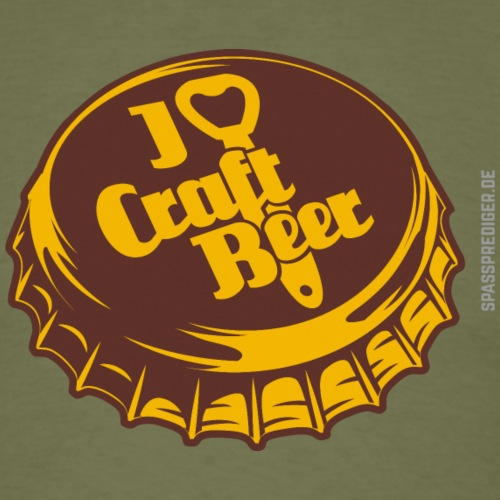 Craft Beer T-Shirt Design I Love Craft Beer