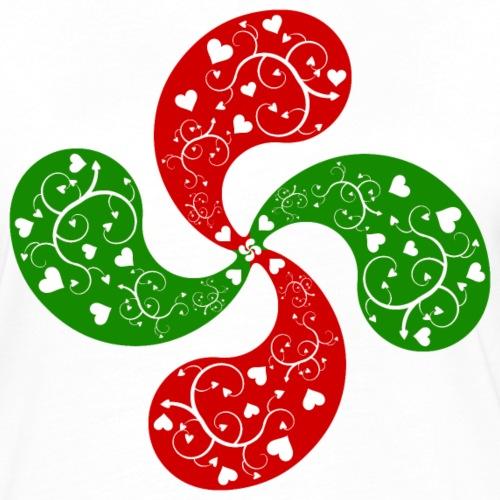 Basque hearts cross
