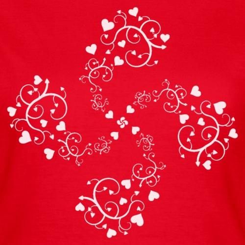 Basque hearts cross 2