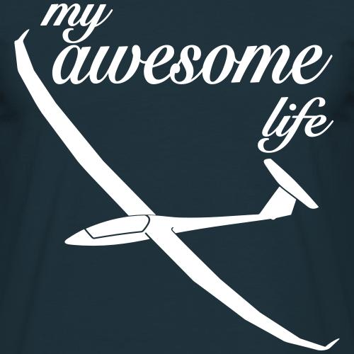 segelflieger Geschenk Segelflugzeug Arcus T-shirt