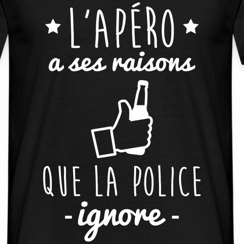 Apéro raisons police