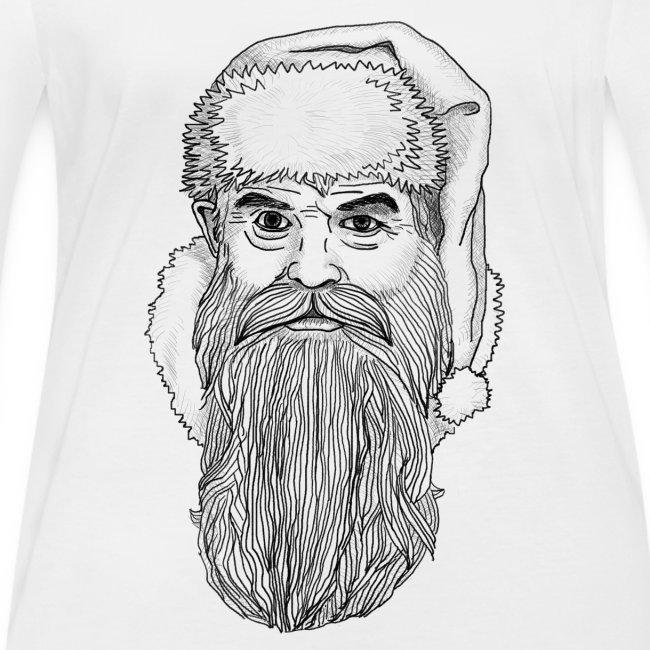 Weihnachtsmann Zeichnung