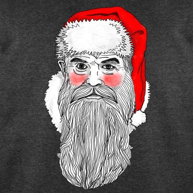 Weihnachtsmann auf Sweatshirt