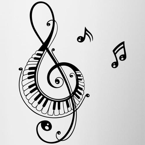 Notenschlüssel, Musik