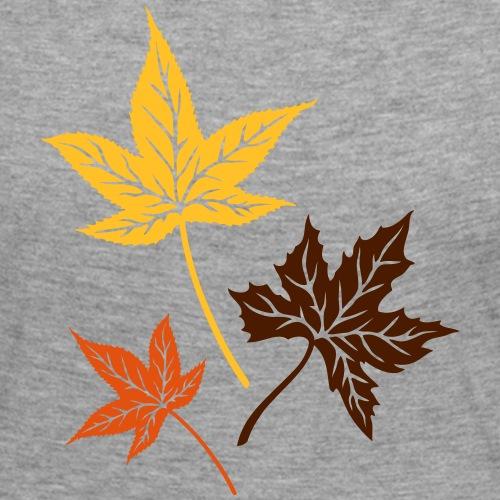 Bunte Herbstblätter. Ahorn, Herbst, Laub.