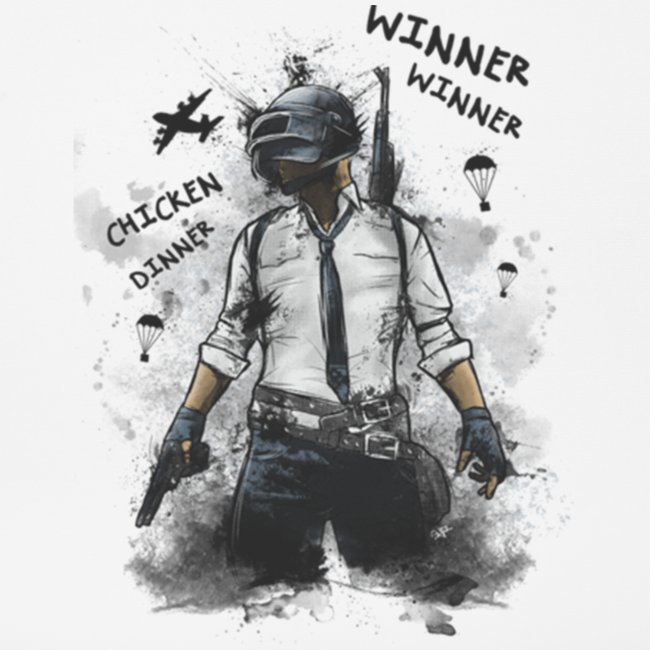 OutKasts.EU PUBG Chicken Dinner Mouse Pad (horizontal)