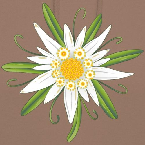Edelweiss, Edelweiß, große Blüte zum Oktoberfest.