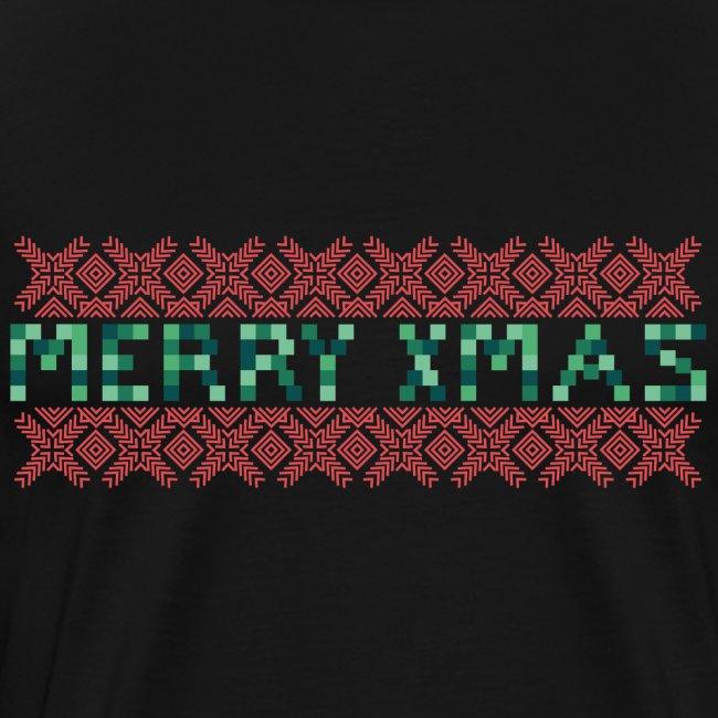 Merry X-Mas Ugly 3 T-Shirts
