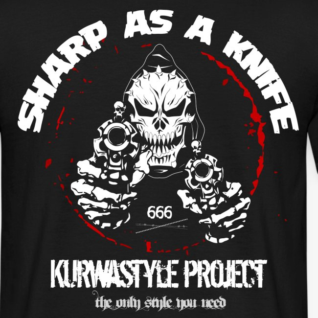 Kurwastyle Project - Sharp As A Knife T-Shirt