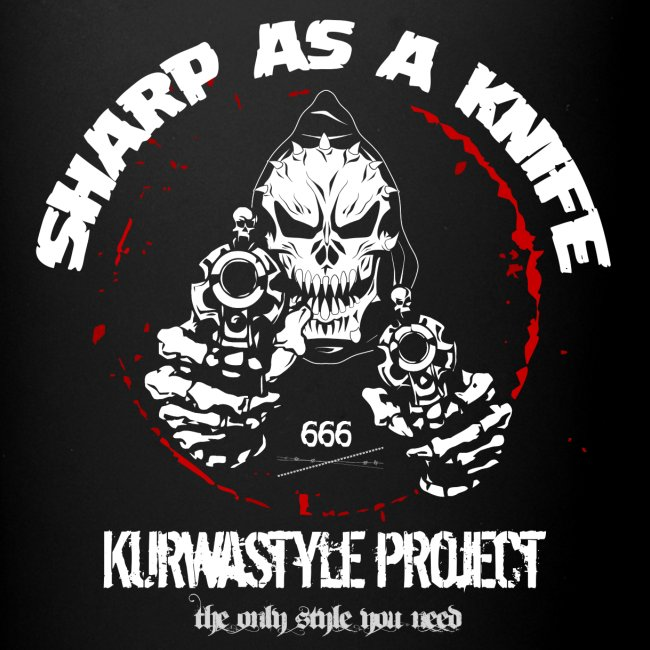 Kurwastyle Project - Sharp As A Knife Mug