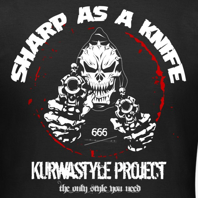 Kurwastyle Project - Sharp As A Knife Women's T-Shirt