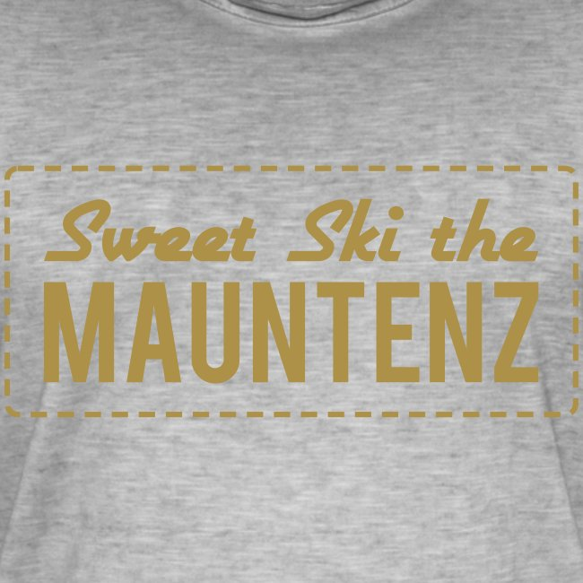 Sweet Ski the Mauntenz Loose Shirt