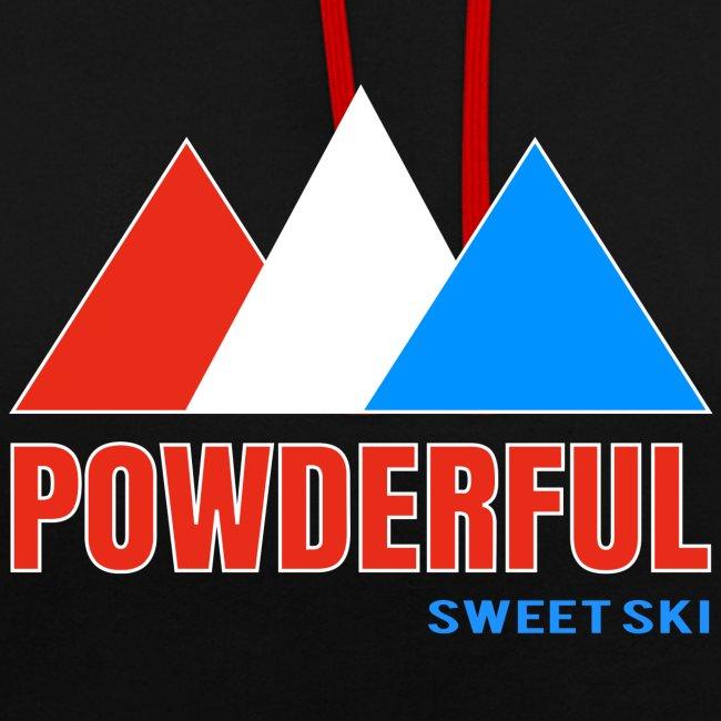 Powderful Sweet Ski Hoodie