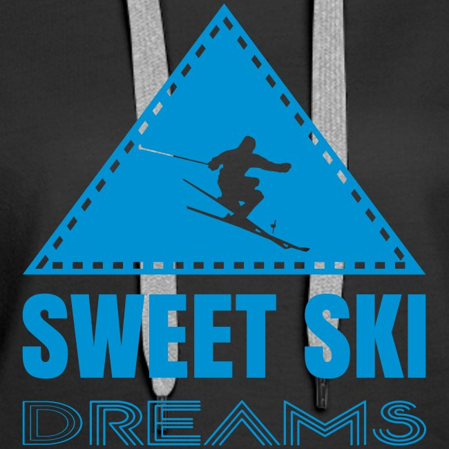 Sweet Ski Dreams Frauen Hoodie
