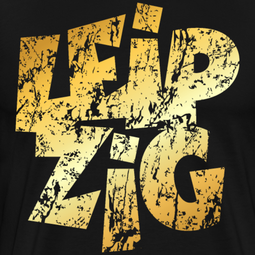Leipzig Distressed (Gold)