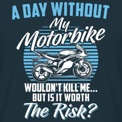 T-shirt moto · Superbike · Vélo · Le risque en vaut la peine