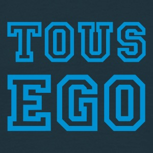 Marine Tous ego Hommess - T-shirt Homme