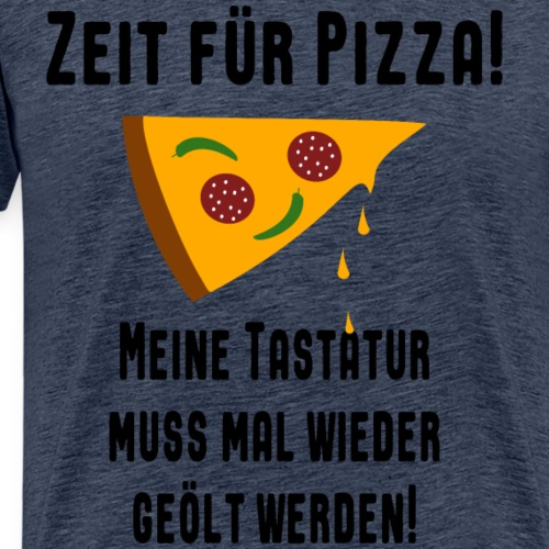 Nerd Gaming Computer Freak Pizza Essen Spruch