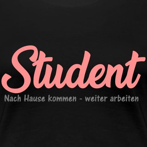 Student kein Feierabend