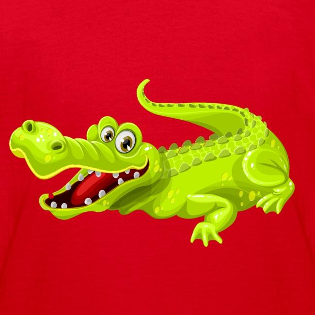 Krokodil teenger t-shirt