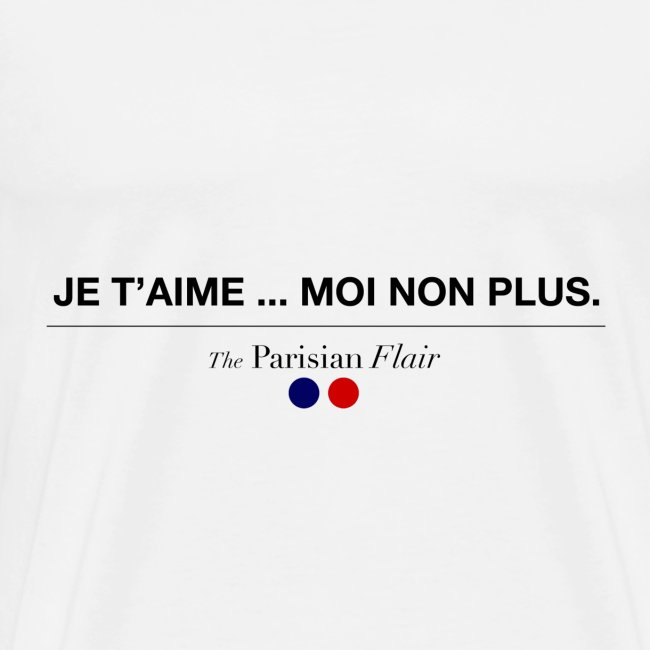JE T'AIME - Homme
