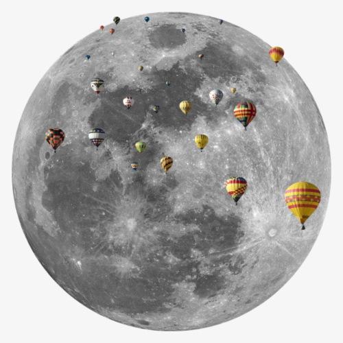 Mond-Ballons