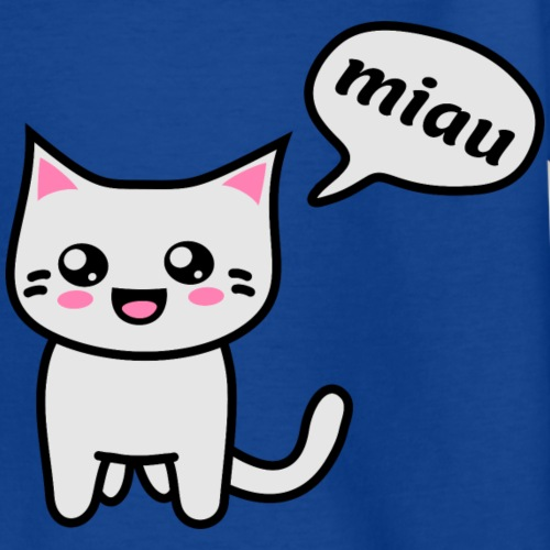 Kawaii Kitteh says miau
