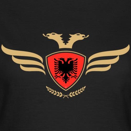 Albanien Flagge Albaner Fahne Wappen Albania