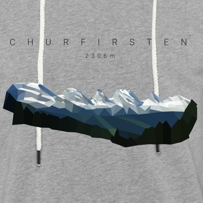Churfirsten 2 - Low Poly