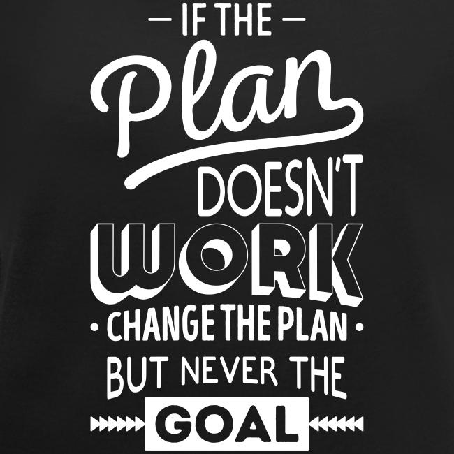 Als het plan niet werkt..