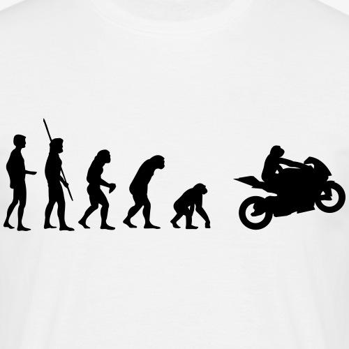 Evolution Motorrad Rückwärts