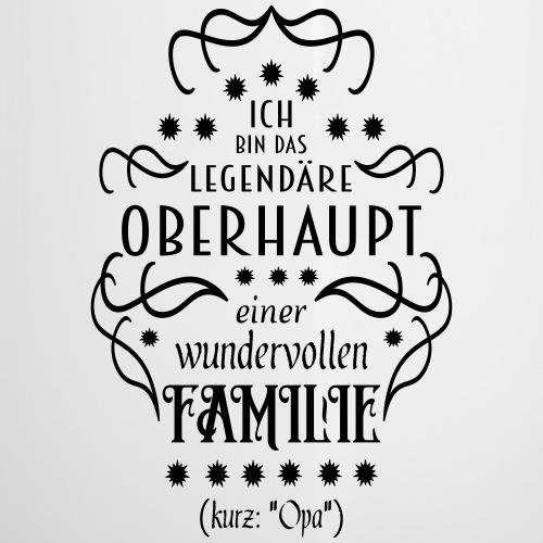 Familienoberhaupt Opa Spruch