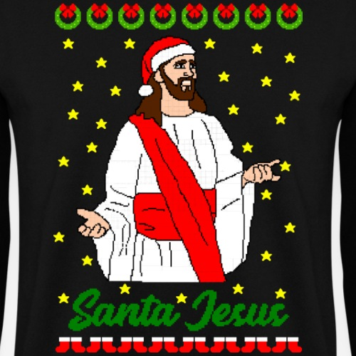 Santa Jesus Ugly Xmas