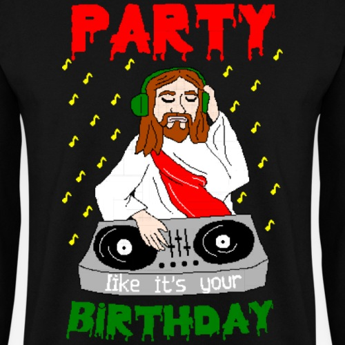 dj jesus birthday party ugly christmas