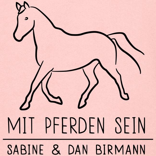 Back- Trotting Horse ( Print Black)