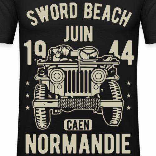 Sword Beach Juin 1944 Caen Normandie