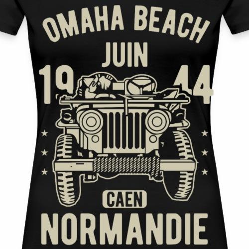 Omaha Beach Juin 1944 Caen Normandie