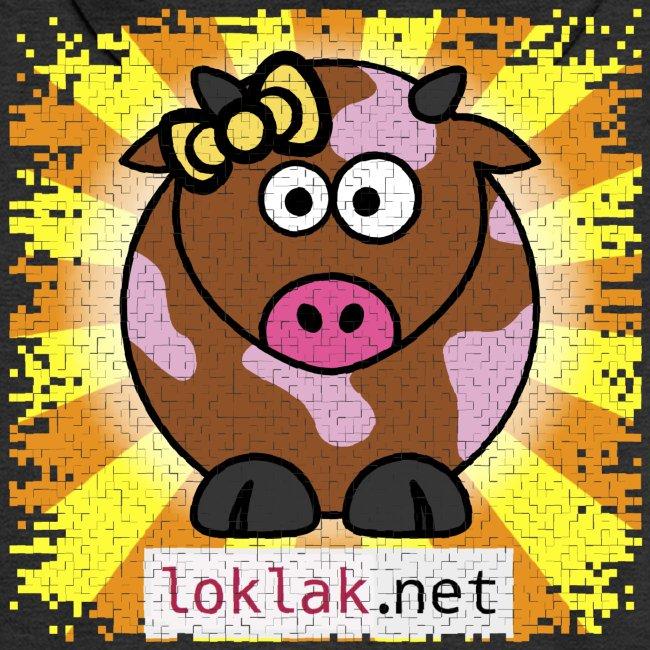 Loklak.net Premium Kapuzenjacke