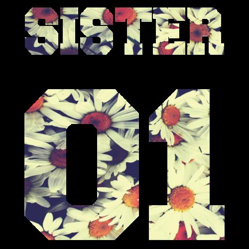 Sister 01, Cute, Family, Gift Ideas, Birthdays