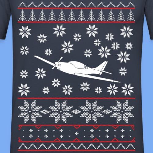 ugly chrismas vl3 Flugzeug Pilot Weihnachten ul