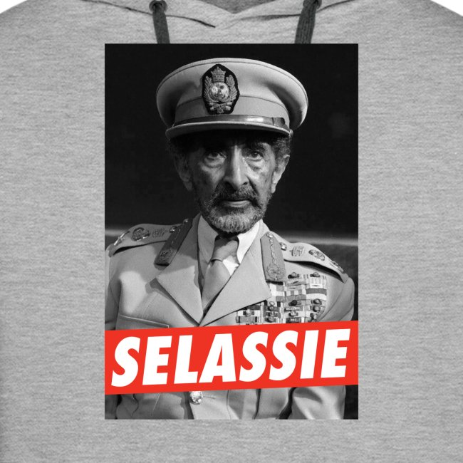 Haile Selassie I - Jah Rastafari - Hoodie