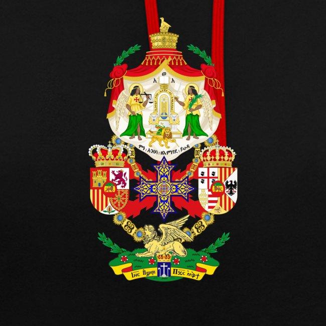 Ethiopian Empire - Coat of Arms - Hoodie