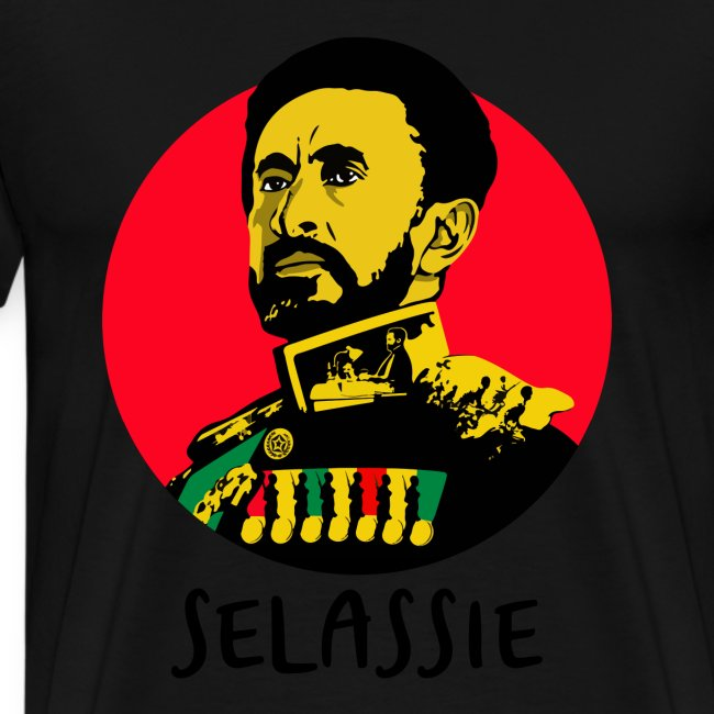 Haile Sleassie I - Jah Rastafari - Shirt