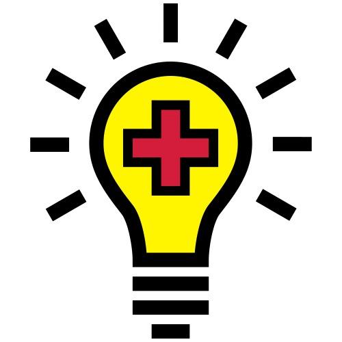 Glühbirne Idee Gesundheit