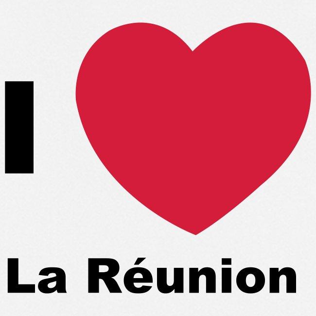 Tablier de cuisine I love La Réunion