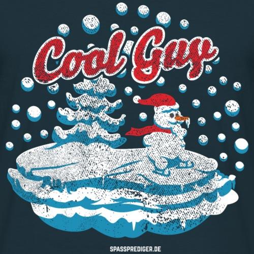 Apres Ski T Shirt Lustiger Schneemann Cool Guy
