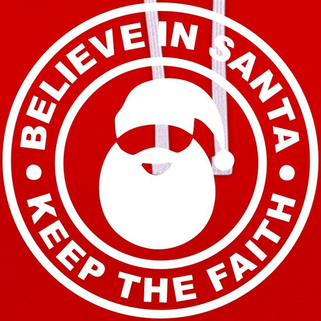 Santa - Keep The Faith Hoodie