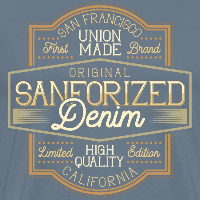 Sanforized Denim