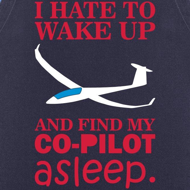 Wake up glider pilot arcus - Tshirt von Flieschen
