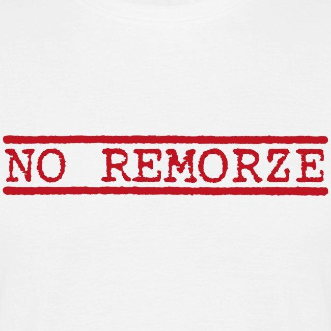 No Remorze - Red Logo